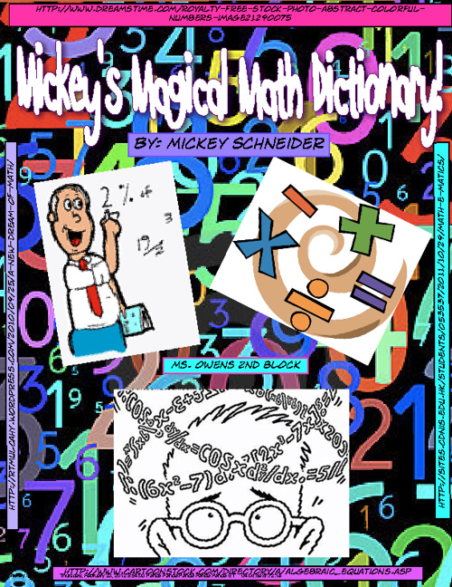 Mickey's Magical Math Dictionary