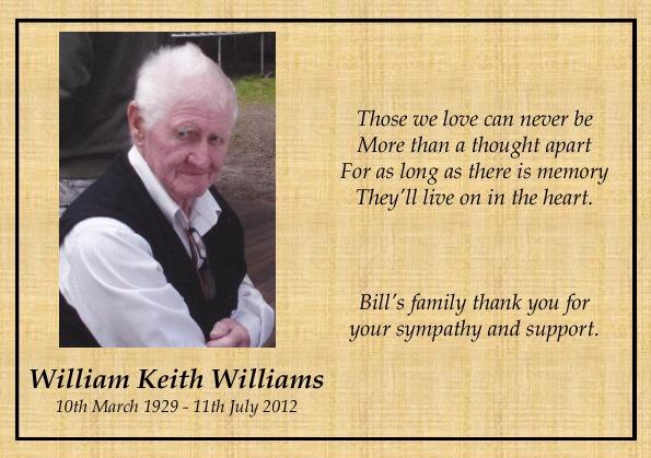 William Williams sample 4