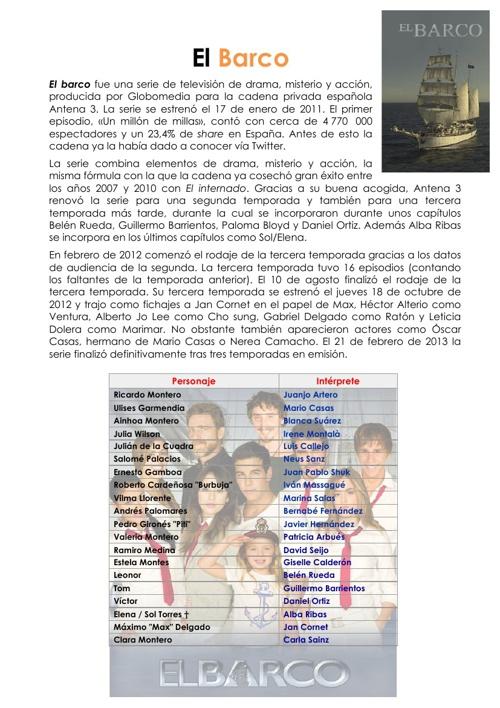 Copy of El Barco