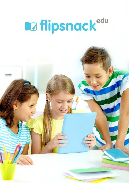 FlipSnack Edu presentation