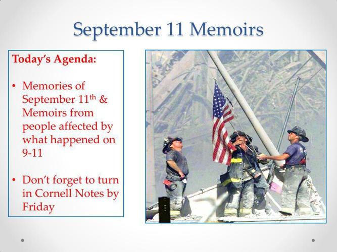 September 11 Memoirs