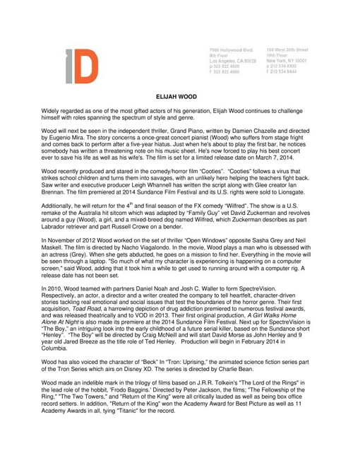 EW Press Kit - February 2014