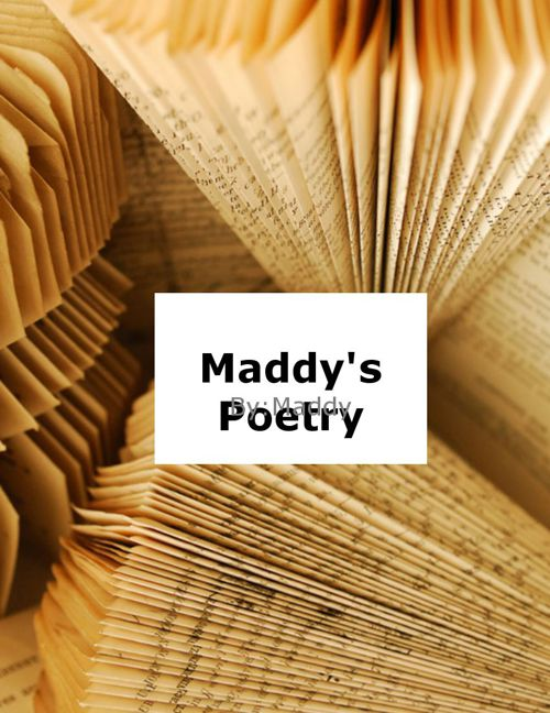 Poetry book Maddy G