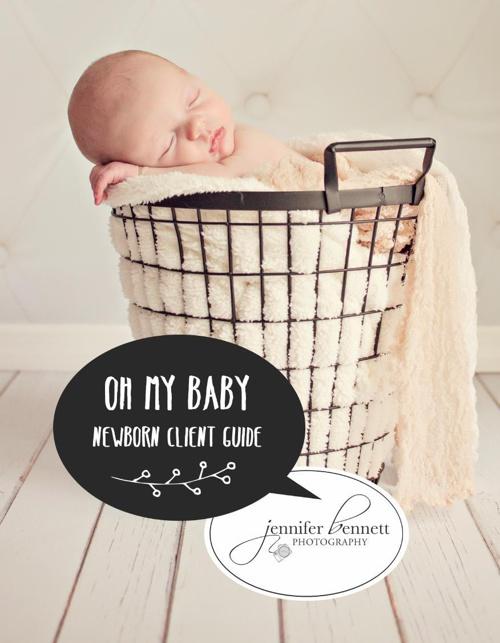 Newborn Client Welcome Brochure