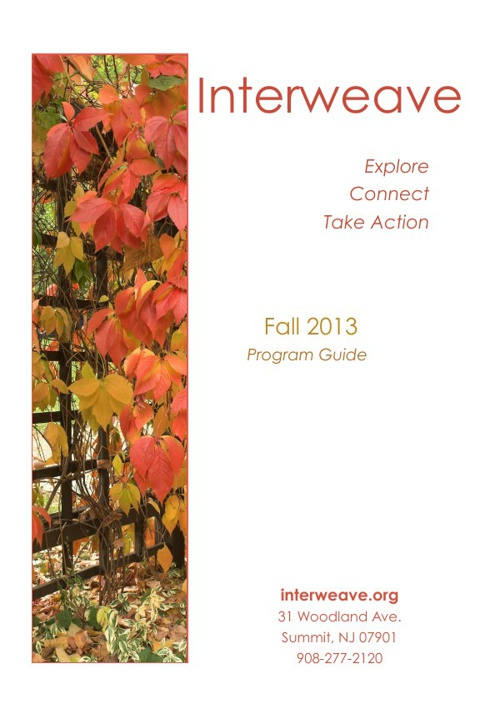 Interweave's Fall 2013 Program Guide