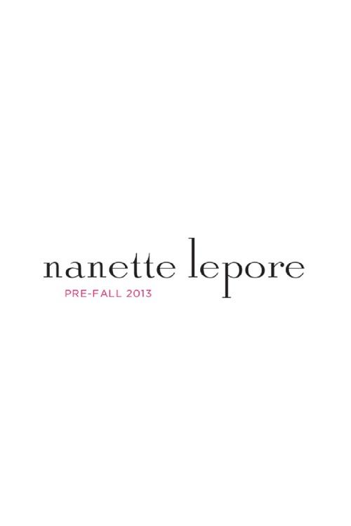 Nanette Lepore Pre-Fall 2013