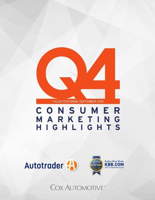 Q4 Consumer Marketing Highlights