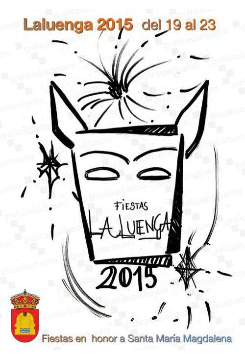 Programa Fiestas Laluenga 2015 - Gráficas Barbastro
