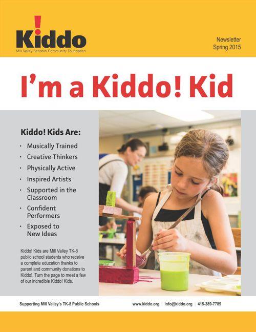 Kiddo! Spring 2015 Newsletter