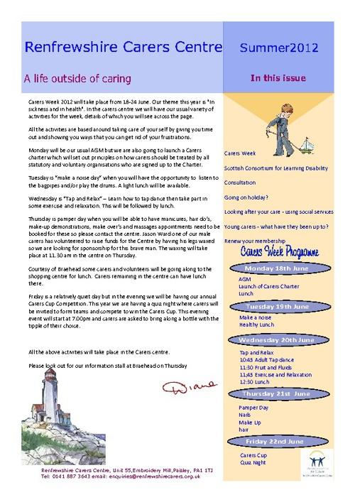 newsletter summer12