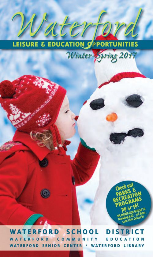 Waterford Leisure & Education Brochure Winter/Spring 2017