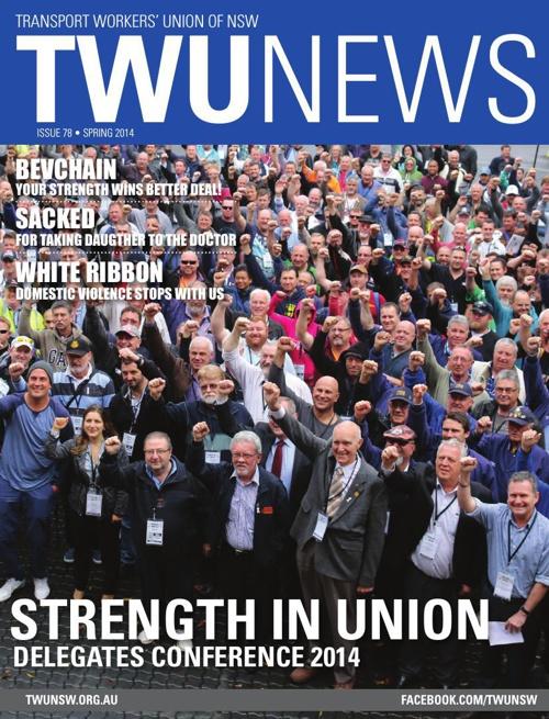 TWU News Spring 2014