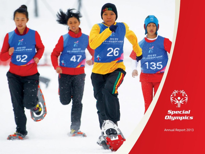Special Olympics 2013 Annual Report
