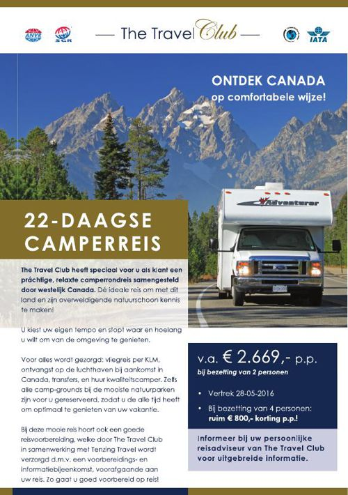 22-daagse camperreis door Westelijk Canada