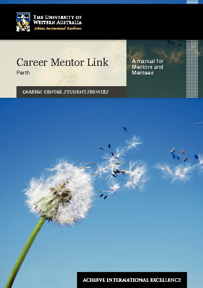 Career Mentor Link - Perth manual