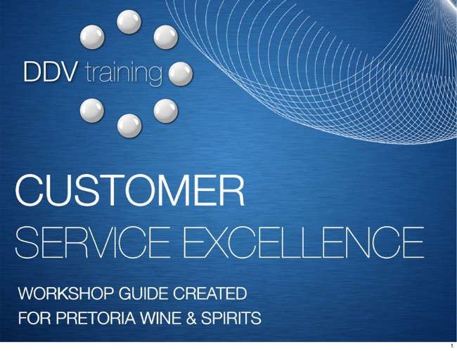 Customer Service Excellence training guide