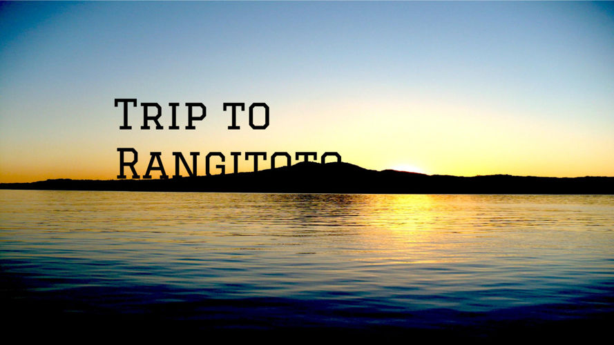 Trip to Rangitoto