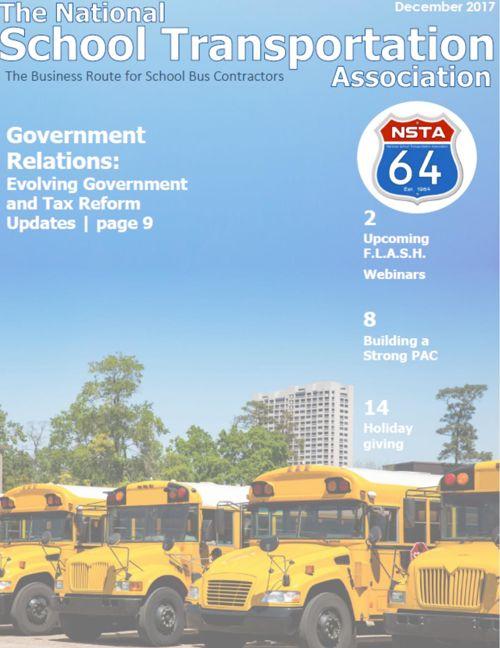 NSTA-64  e-Newsletter December 2017