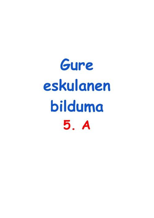 Eskulanak 5.A