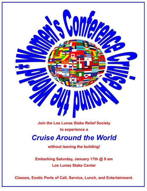 Women's Conference Cruise Around the World