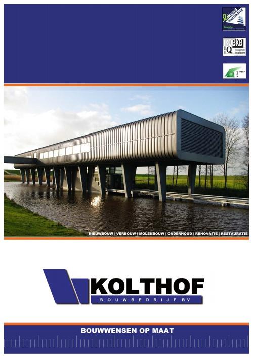 Bouwbedrijf Kolthof B.V.