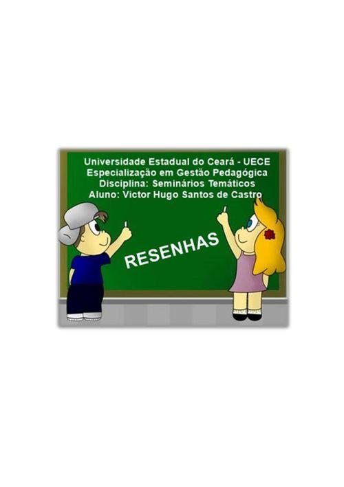 RESENHAS CRITICAS - VICTOR HUGO SANTOS DE CASTRO (1)