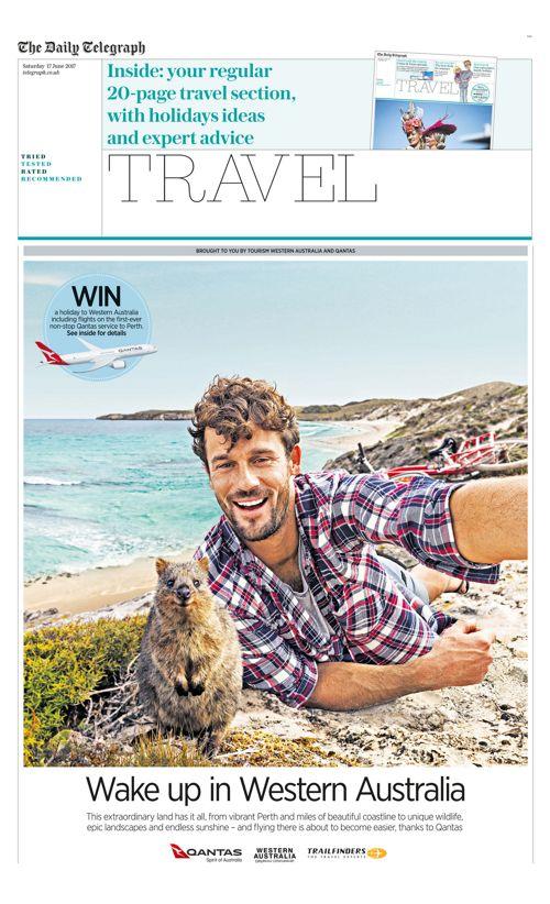 Qantas / Western Australia Wrap