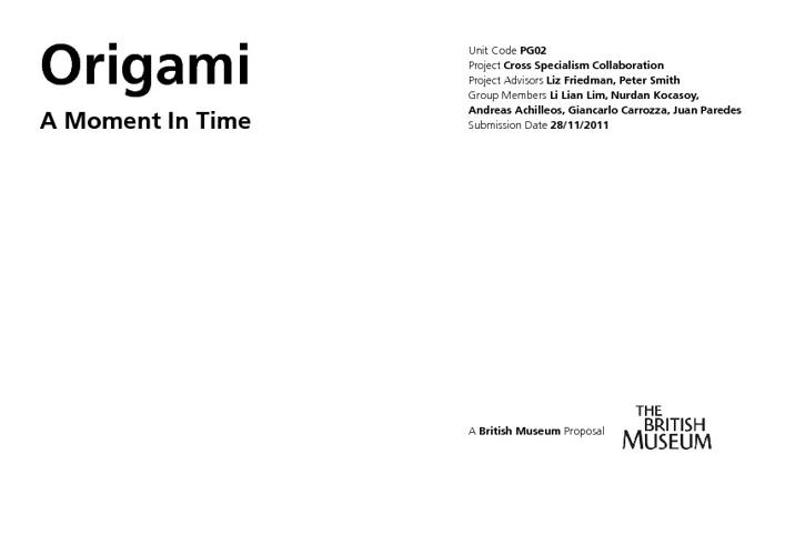 Exhibition Design Brief