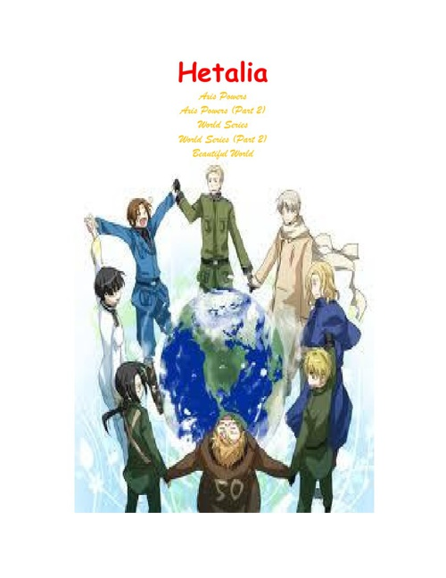 The Hetalia Book:Part 1