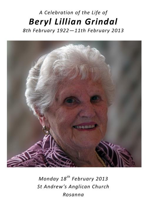 Beryl Grindal
