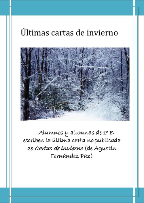 Últimas cartas de invierno