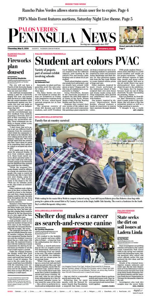 Peninsula News | May 5, 2016
