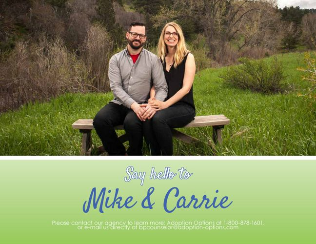 Mike and Carrie's Adoptive Family Profile