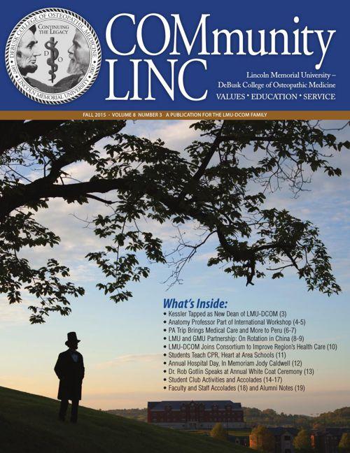 COMmunity Linc - Fall 2015 - LMU-DCOM