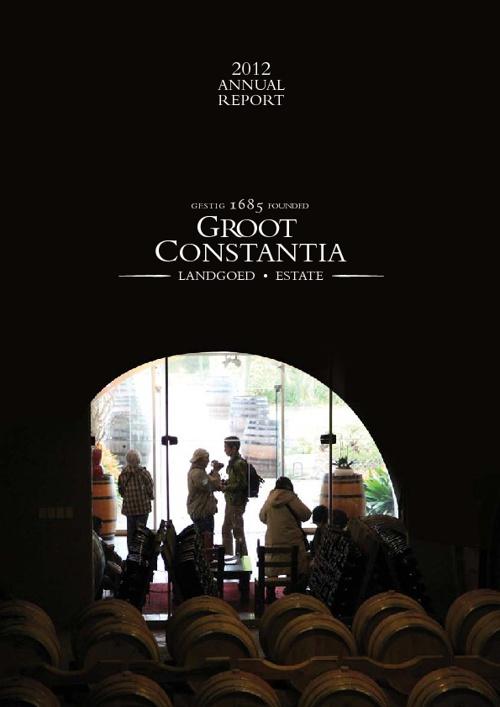 Groot Constantia 2012