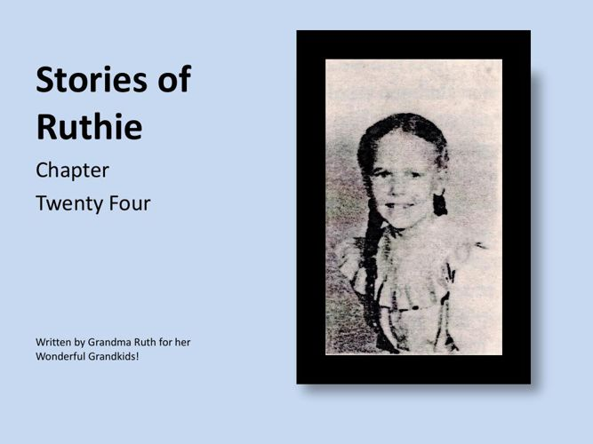 Stories of Ruthie - book 24