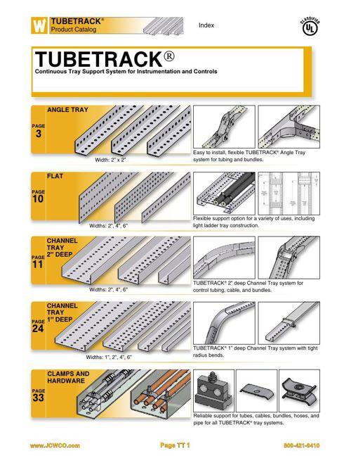TUBETRACK® Product Catalog