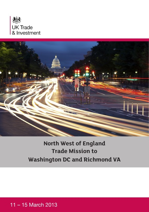 UKTI NW Mission to Washington & Richmond