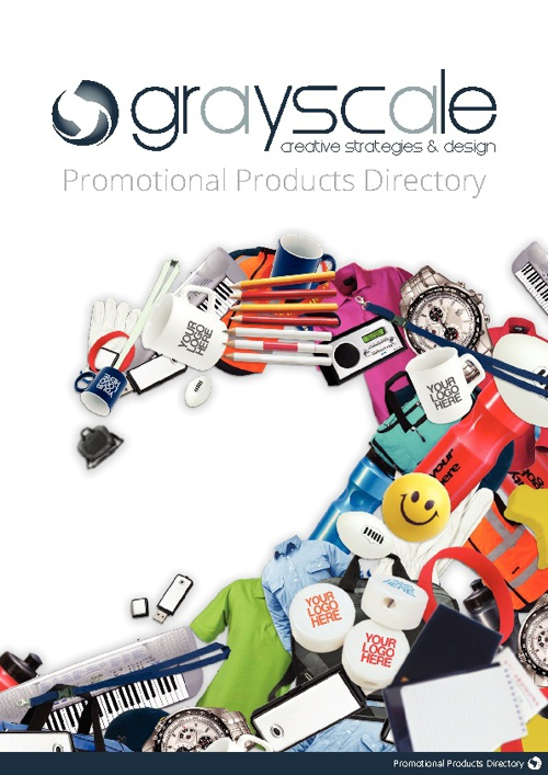 Grayscale Promotional Products Directory