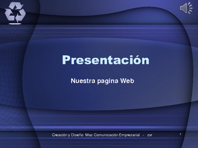 Copy of Presentacion pagina web1