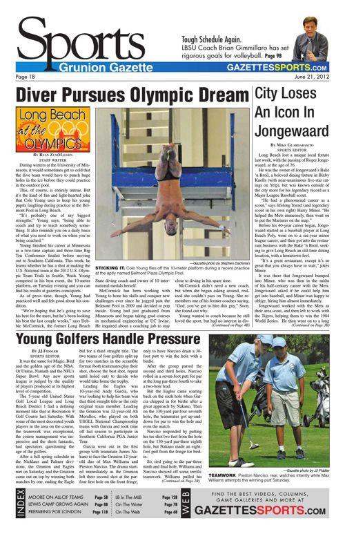 Gazette Sports | June 21, 2012