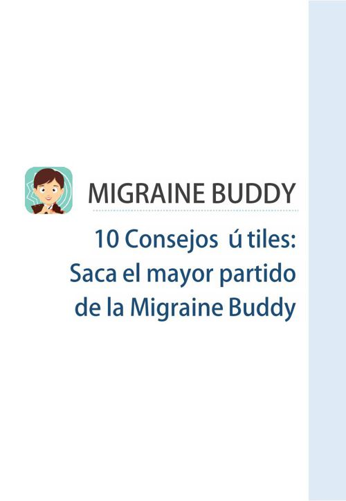 Migraine Buddy Manual ver 12.6 (SP)