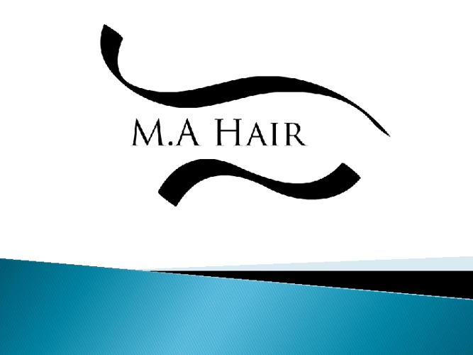 M.A Hair
