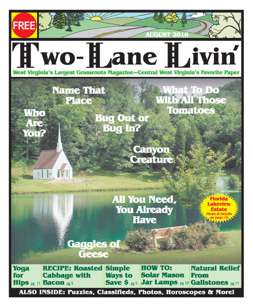 Two Lane Livin August 2016