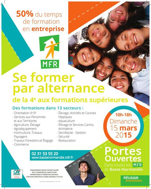 MFR Basse-Normandie - Portes Ouvertes 2015