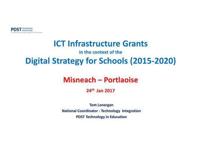 Misneach-Portlaoise-ICTI & Grants (24-1-2017)