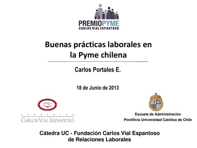 Presentacion Seminario La PYME habla en Concepcion