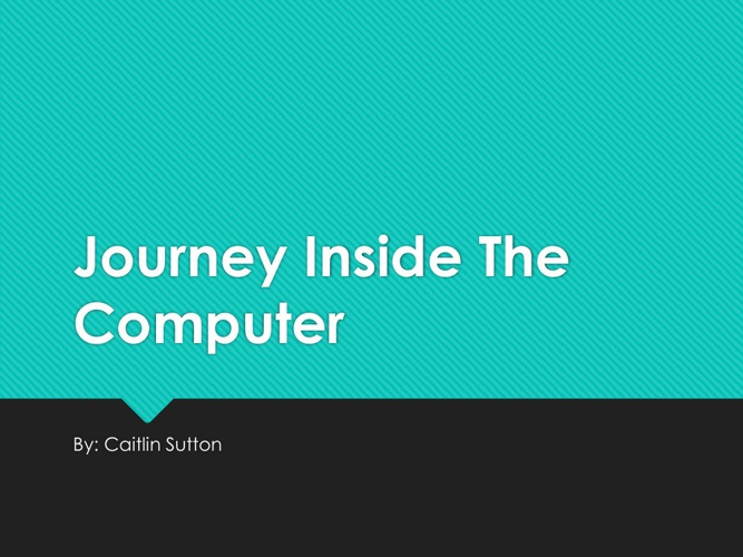 Caitlin Sutton Computer Flip Book