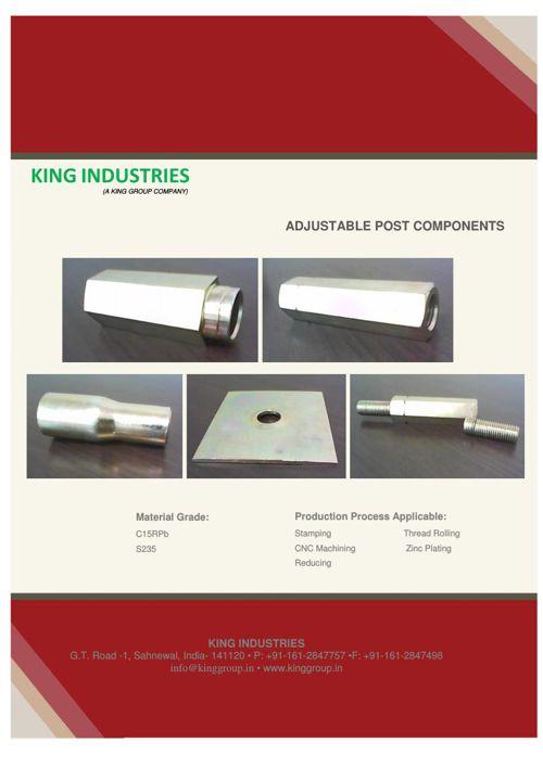 Adjustable Post Components
