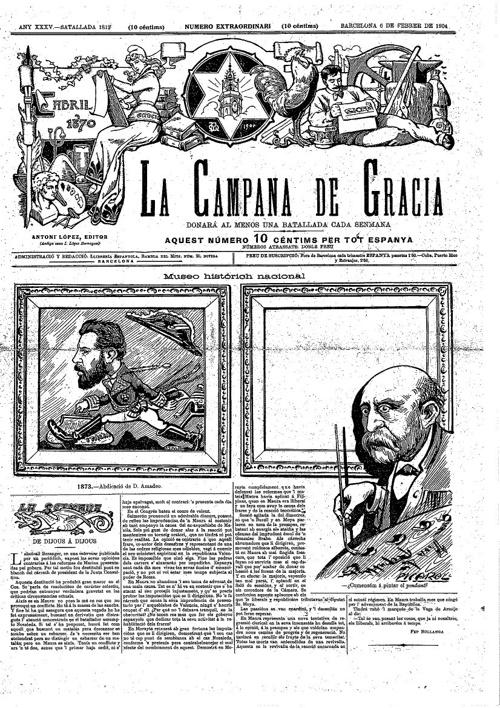 La Campana de Gràcia febrer 1904